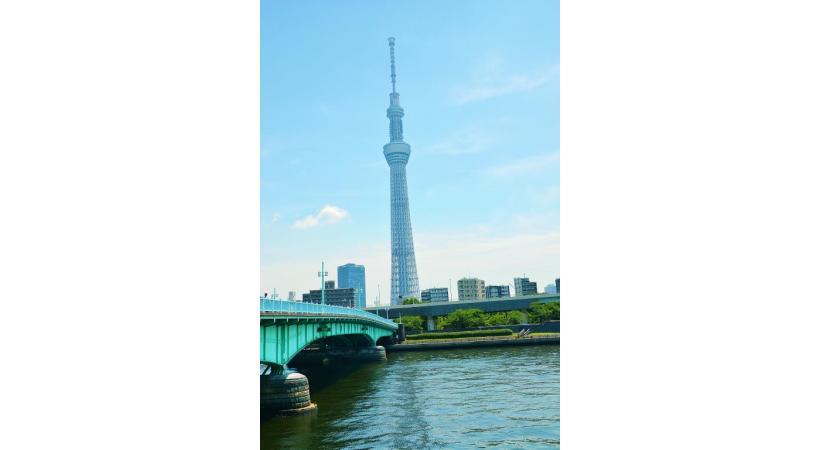 Tokyo SkyTree culmine à 634 mètres. AB