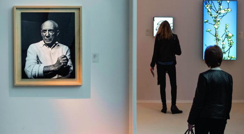 Picasso et bien d'autres artistes, seront représentés.