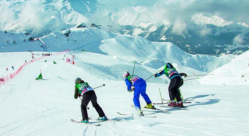 Du ski hors-piste, certes, mais en toute sécurité.