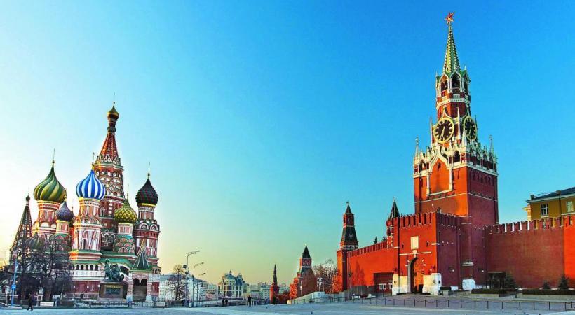L'incomparable place rouge de Moscou. DR