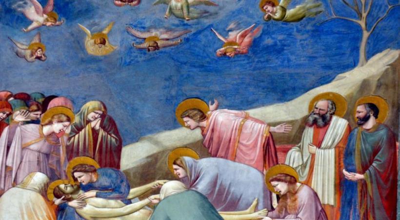 L'une des fresques les plus émouvantes de la Chapelle Scrovegni, par Giotto. CYR