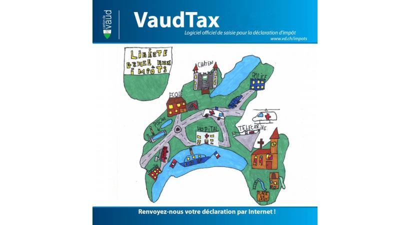 Depuis plusieurs années, le logiciel VaudTax permet de remplir très facilement sa déclaration. DR