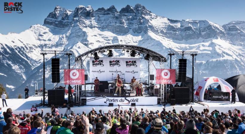 Portes du Soleil: concerts givrés