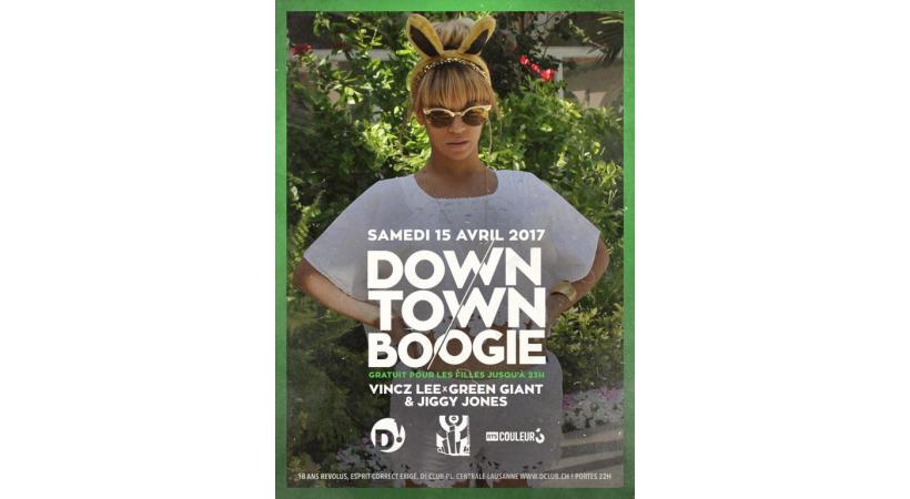 Downtown boogie, le 15 avril. DR