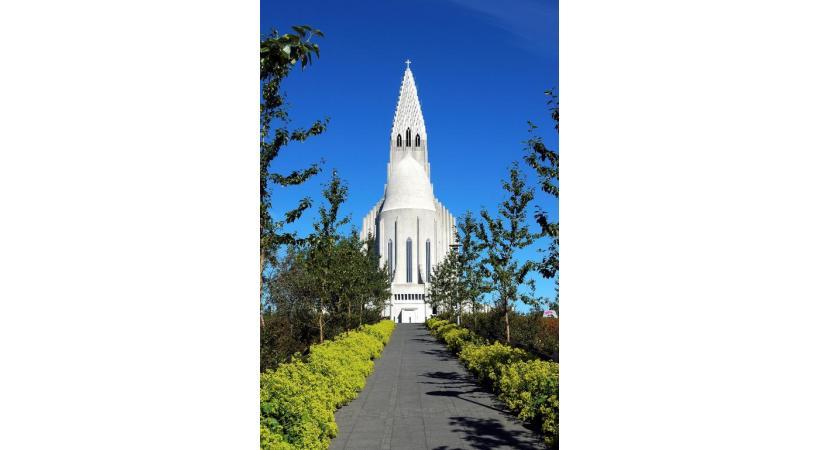 DR Une église, à Reykjavik, la capitale. DR
