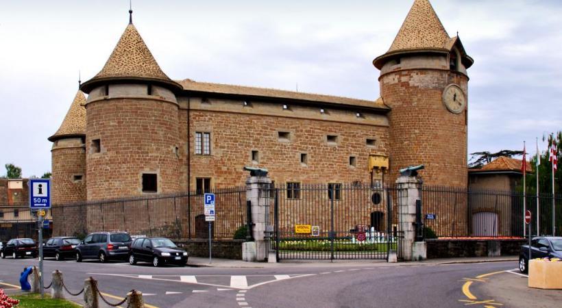 Le château de Morges hébergera le marché de Noël 2017. DR