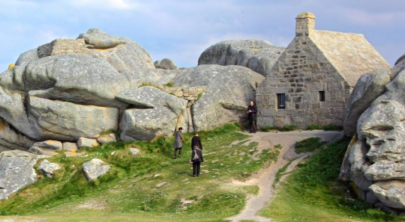 Maison des Douaniers sur la côte des Légendes à Kerlouan. crtb-Pierre Torset