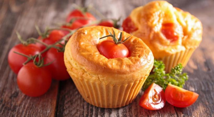Cake à la tomate