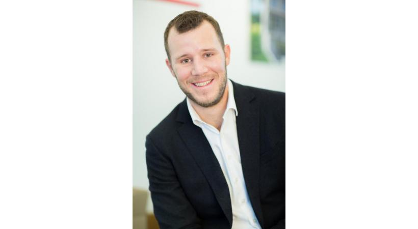 Mathieu Maillard, conseiller communal PLR,  vice-président PLR Lausannois DR