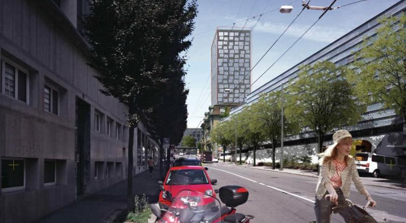 Sur l'avenue de Beaulieu comme sur celle de Vinet (notre photo), la vitesse est désormais limitée à 30km/h de 22h à 6h du matin. DR