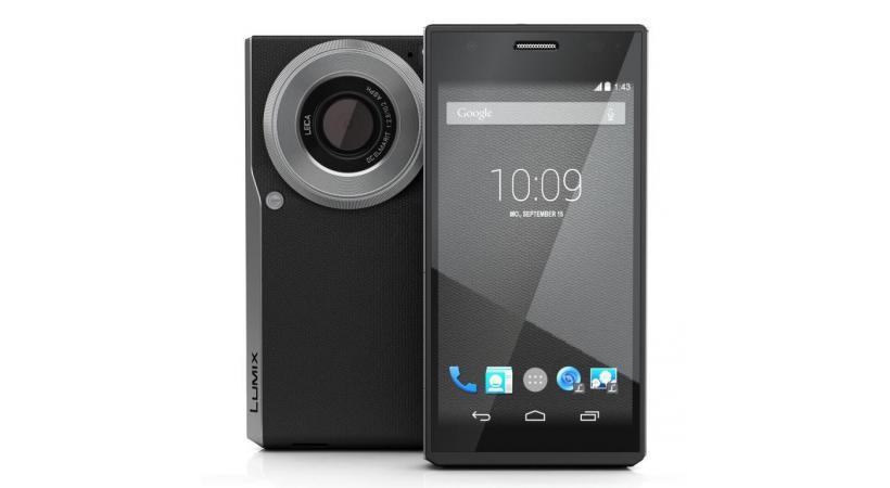 Panasonic Lumix CM1 - Appareil photo d'un côté, smartphone de l'autre
