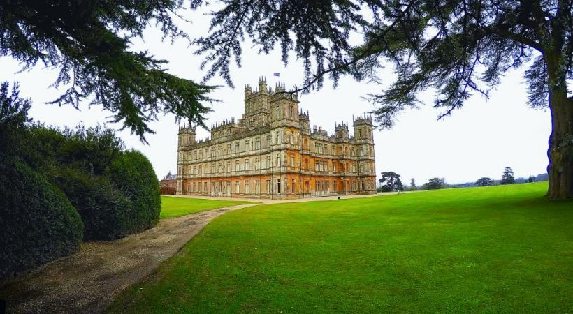 Highclere fascine tous les fans de «Downtown Abbey».