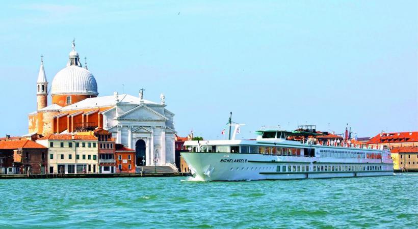 Le bateau prévu pour cette croisière, le «MS Michelangelo». HERVE OUDIN