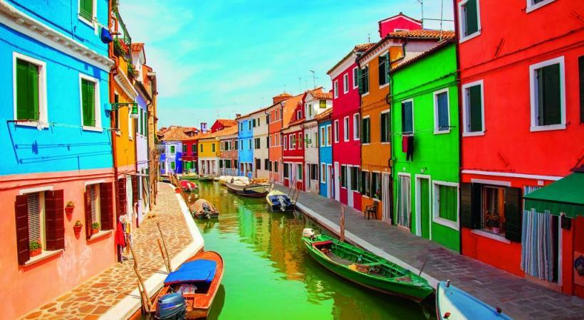 Burano, le village de pêcheurs virevolte de couleurs. ELENA SCHWEITZER