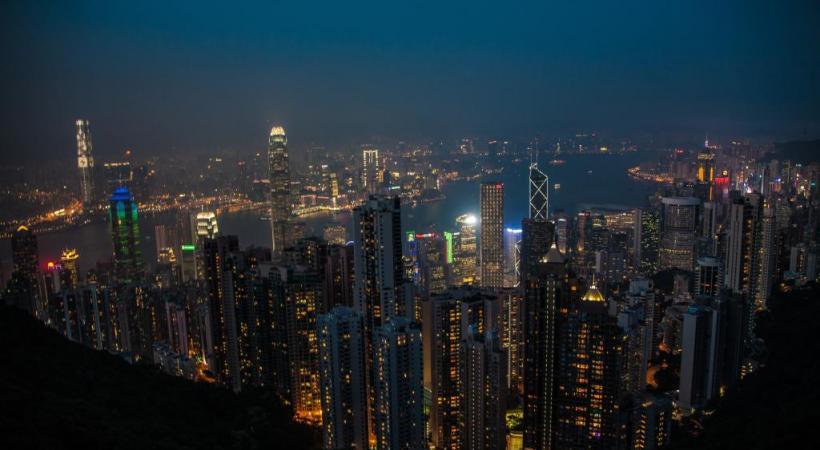 Hong Kong est l'un des principaux centres financiers mondiaux. DR