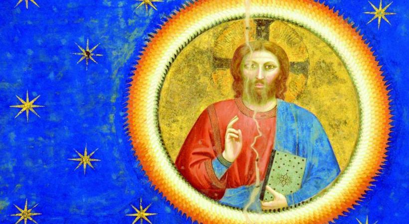 Le bleu de Giotto. CYR