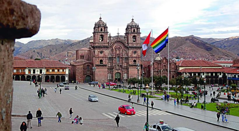 Le charme hispanique de Cuzco.