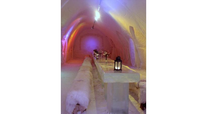 Les éphémères hôtels de glace connaissent un succès grandissant