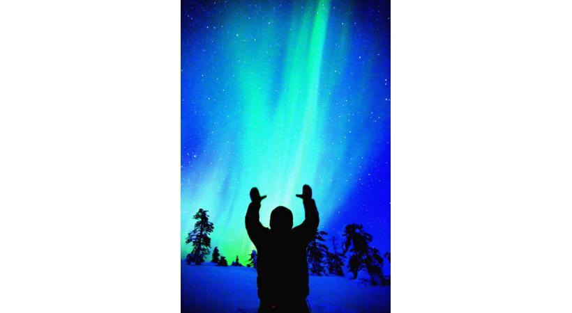 Une aurore boréale: un spectacle fascinant.