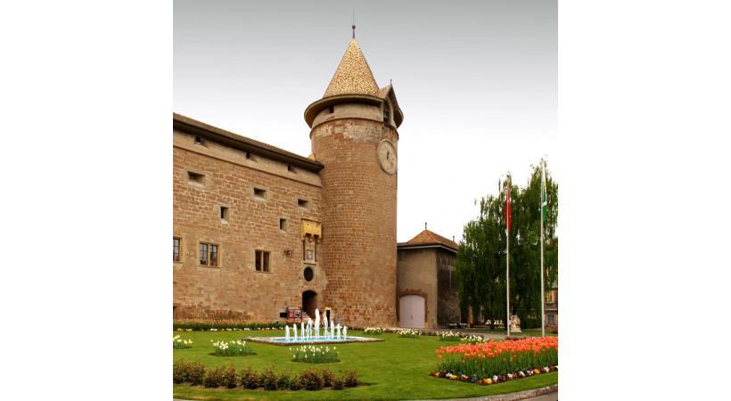 Les jardins du Château de Morges abriteront le Marché de Noël du 7 au 10 et du 14 au 17 décembre prochains. dr