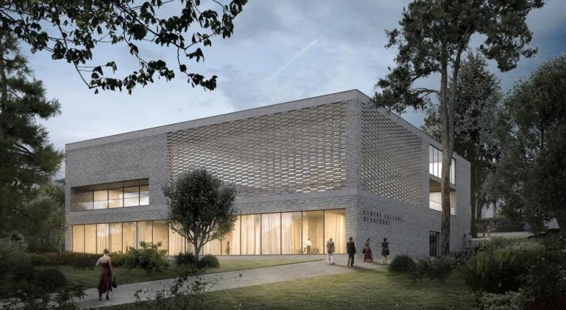 Un nouveau bâtiment, alliant fonctionnalité et convivialité. dr