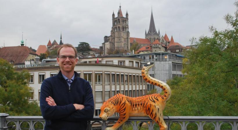 Depuis sa plus tendre enfance, Hubert Vereecke est un mordu de voyages. DR