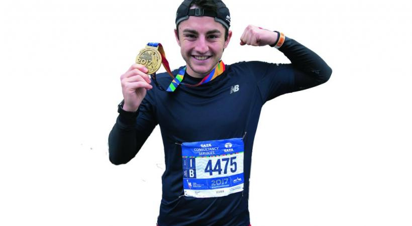 Noam Yaron, 20 ans, Morgien, youtubeur et... marathonien. Dr