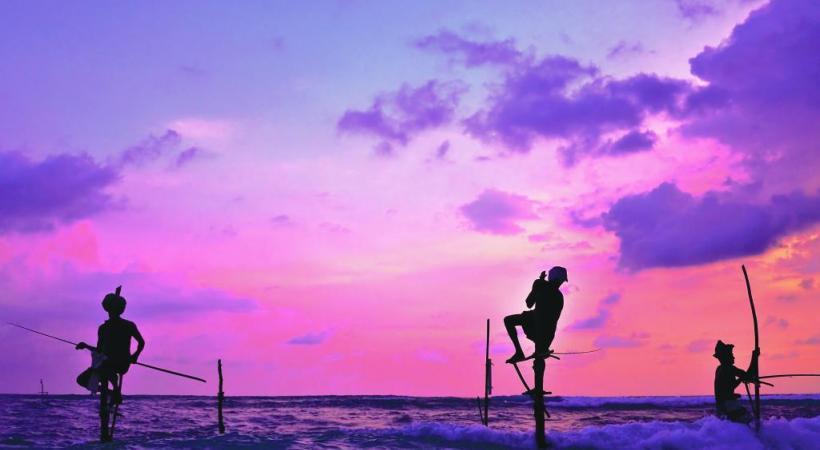 A la rencontre des pêcheurs, qui sont de véritables équilibristes.