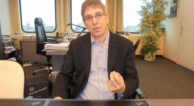 Oscar Tosato, Municipal en charge de la cohésion sociale. ca