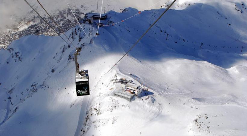 La nouvelle installation du Mont-Gelé devrait être opérationnelle le 15 décembre. TéLéVERBIER
