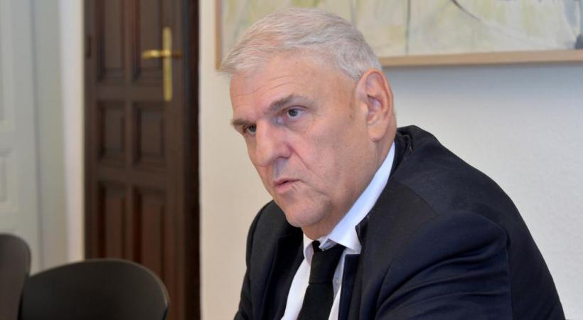 Daniel Brélaz, syndic de Lausanne de 2001 à 2016. verissimo