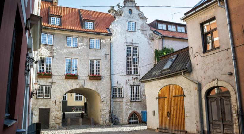 Avec plus de 550'000 habitants, Vilnius est la deuxième plus grande ville balte Riga