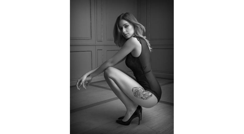 Natália Pereira, une Lausannoise de charme. crédit photo: Playboy