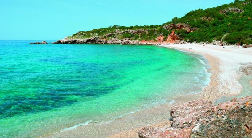 Les plages monténégrines n'ont rien à envier à celles de la Croatie. DR