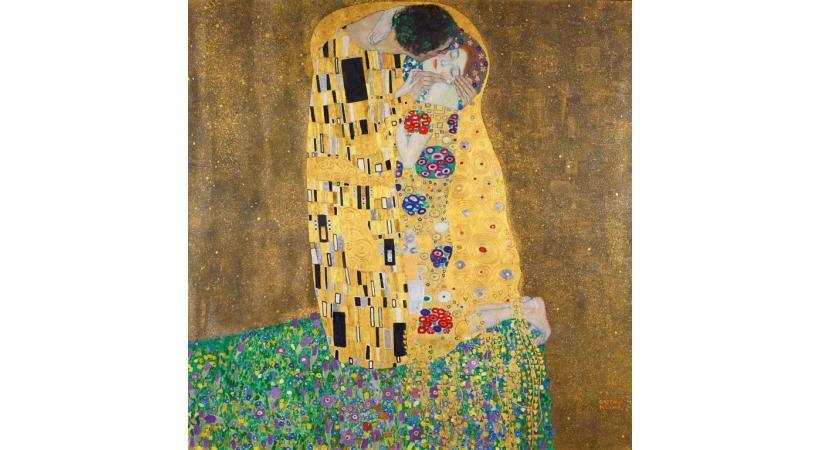 Le «Baiser» de Gustav Klimt. BELVEDERE