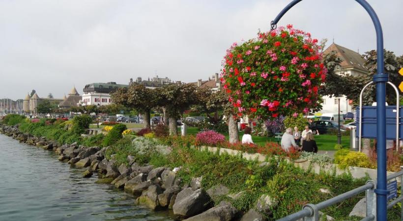 Morges la Radieuse, cherche à renouveler son tourisme. CA