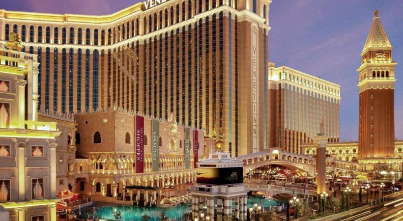 A Las Vegas, aux Etats-Unis, les dimensions du «Venetian» dépassent l'entendement. DR