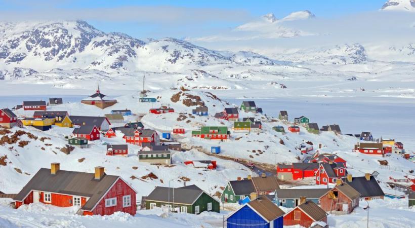 La population du Groenland ne compte qu'environ 56'000 âmes.