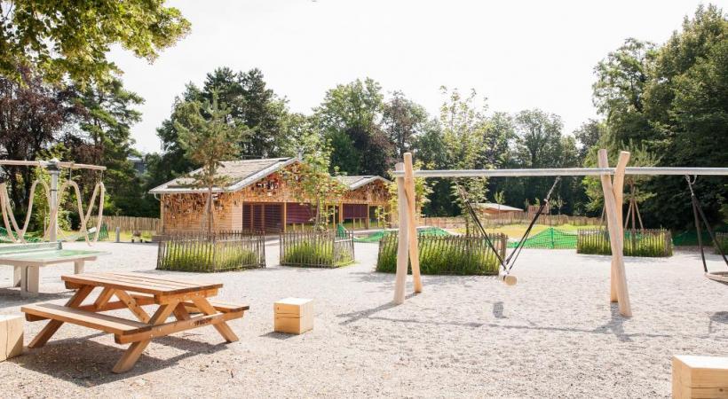 Le terrain de Malley Aventure bénéficiera du plus  long toboggan de Lausanne. MISSON
