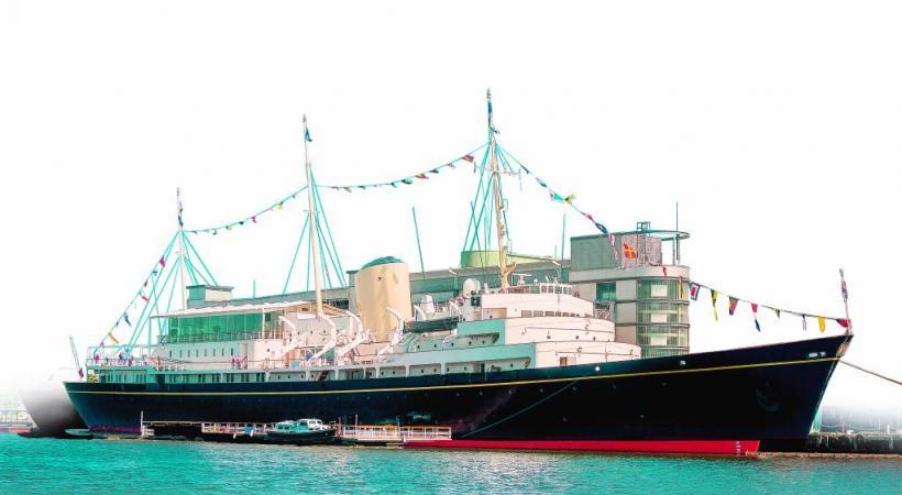 Le «Britannia» a été construit à Clydeside, en Ecosse.
