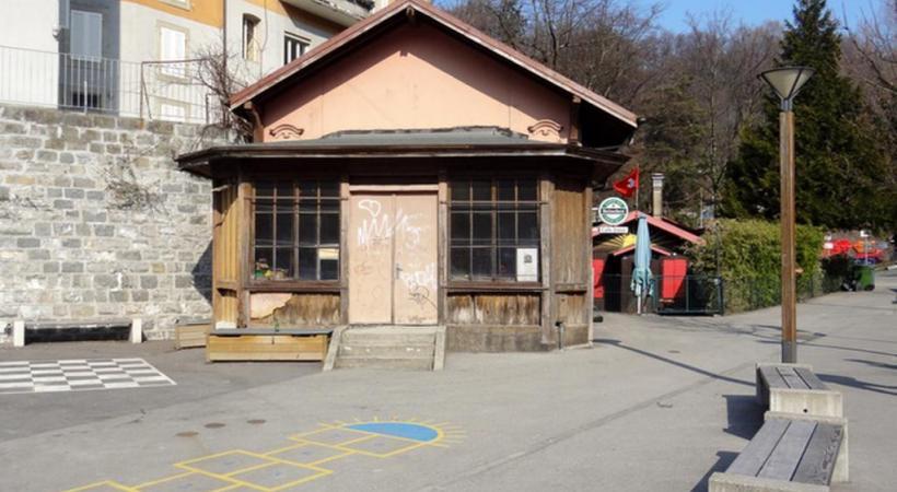 Le dernier vestige d'un des tout premiers funiculaires suisses. DR