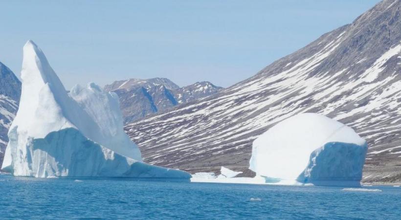 La fonte de plus en plus rapide des glaces du Groenland inquiète les scientifiques. DR