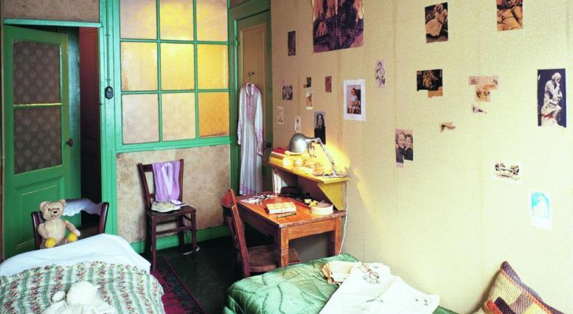 La chambre secrète d'Anne Frank. PIXABAY/ALLARD BOVENBERG