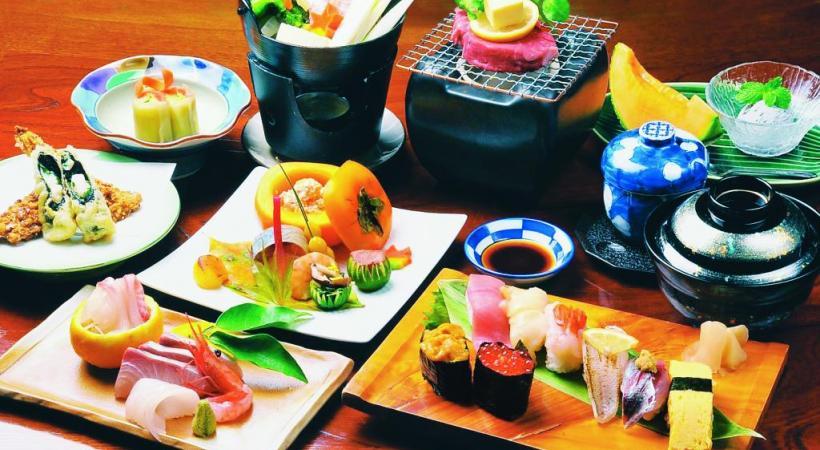 La cuisine japonaise… tout un art. DR