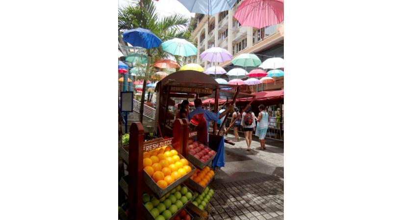 La capitale mauricienne est une destination propice au shopping.