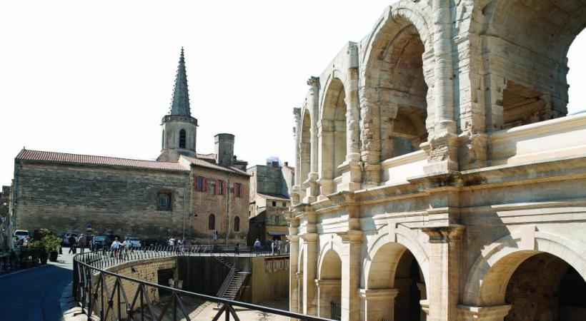Les arènes d'Arles témoignent de l'important passé romain de la ville. 123RF/LEVGENII FESENKO