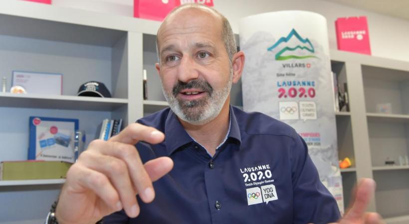 Ian Logan, directeur général des Jeux Olympiques de la Jeunesse 2010. VERISSIMO