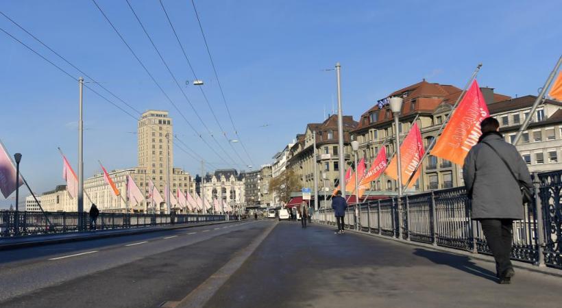 Il avait été initialement prévu que l'axe St.-François-Chauderon soit fermé à tout trafic automobile courant 2019-2020. VERISSIMO