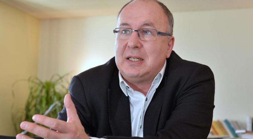 Pierre-Yves Maillard, conseiller d'Etat sortant en charge de la santé. VERISSIMO