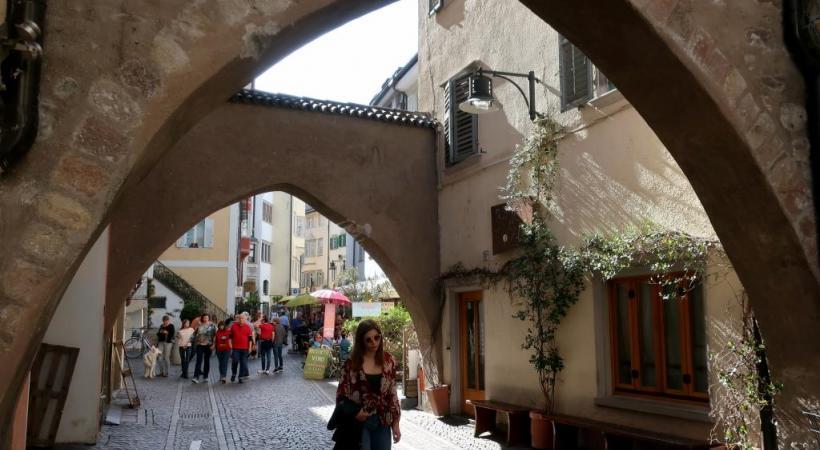 Le charme de Bolzano tient beaucoup à son patrimoine architectural.